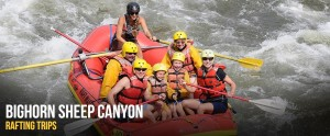 BIGHORN SHEEP CANYON RAFTING