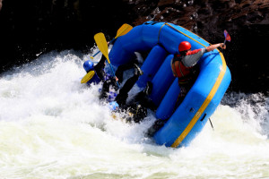 Whitewater Rafting boat